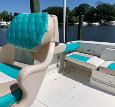 Custom Upholstery Boat Interior